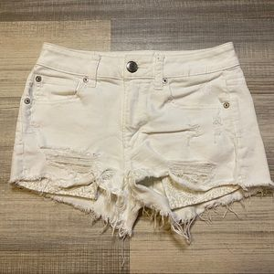 🎉Sale🎉American Eagle High Rise Shorts White